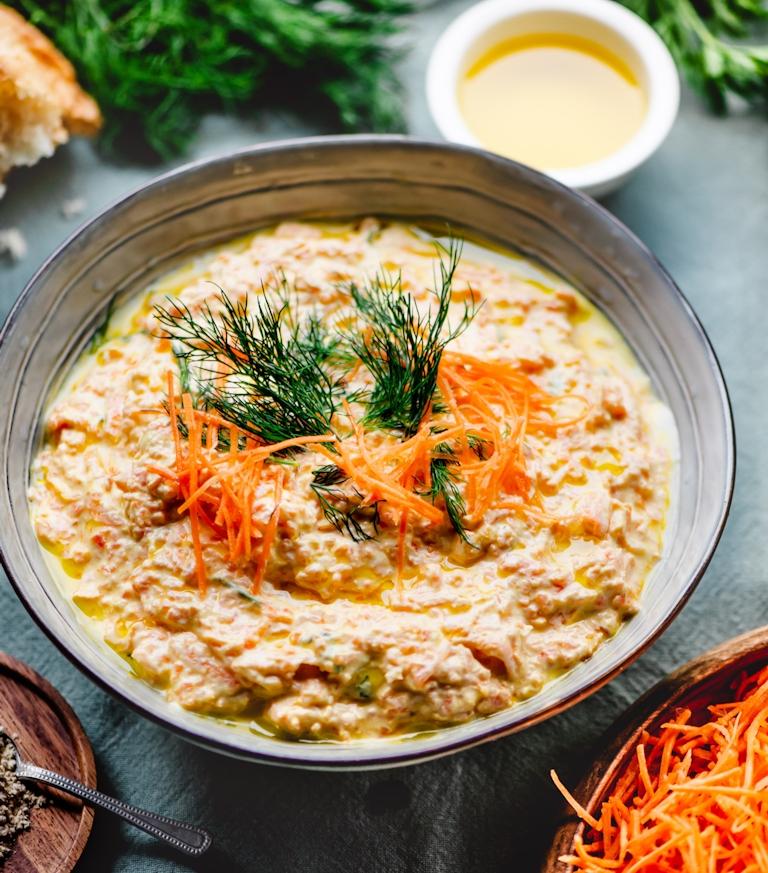 Wortel Yoghurt Salade