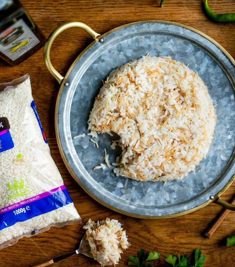 Miras Tosya Rijst met gebraden vermicelli pilaf