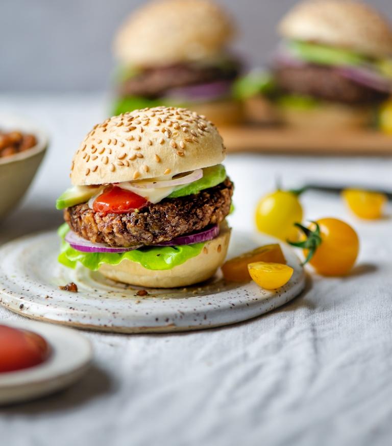 Proef deze heerlijke Vegan Burger van Miras Food