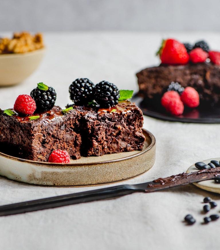 Miras Zwartebonen Brownie